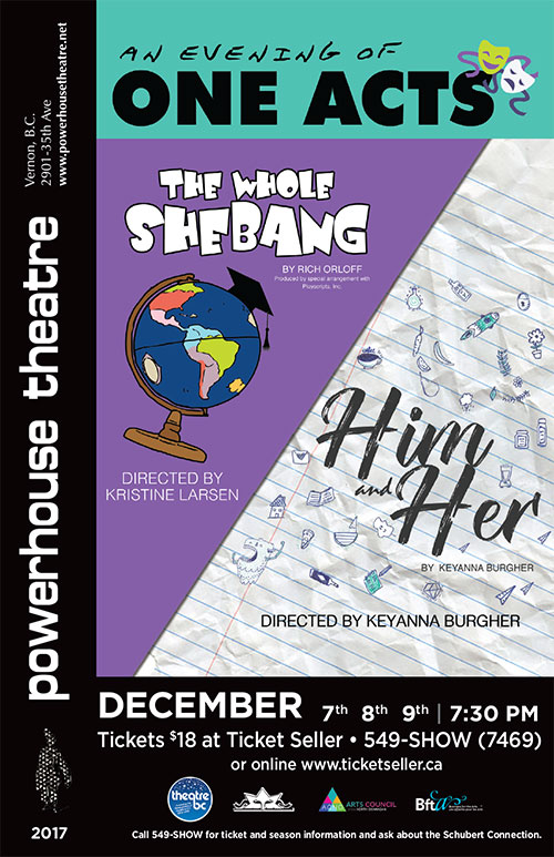 "An Evening of One Acts - ""The Whole Shebang"" & ""Him & Her"""
