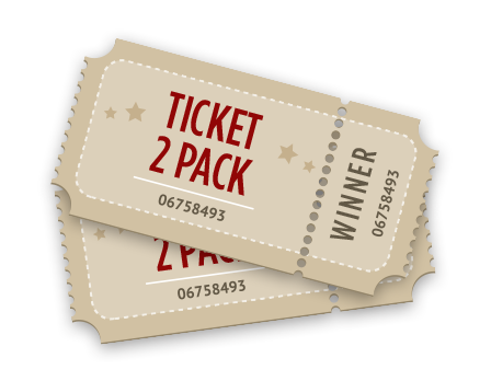 Win 2 Pack of Tickets