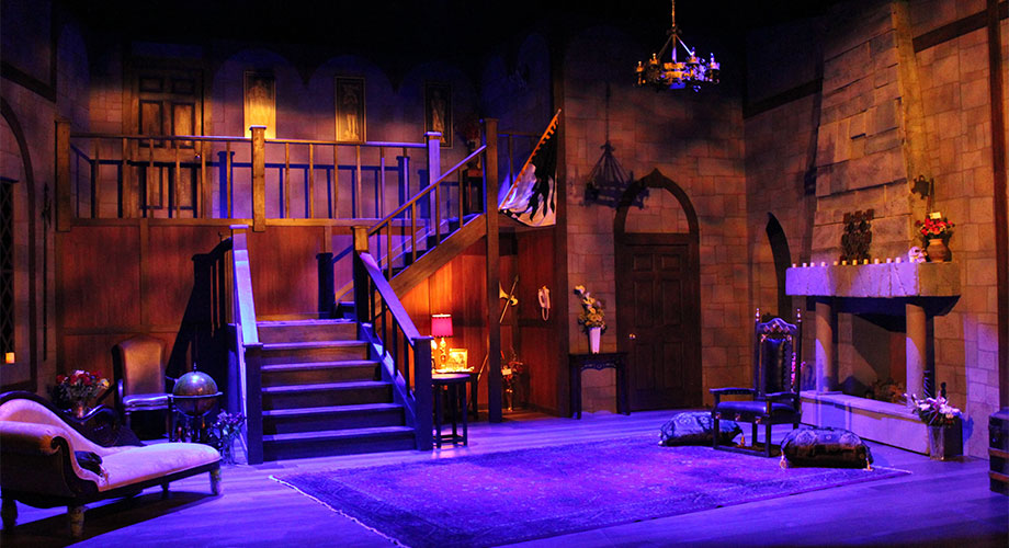 "The Set for ""I Hate Hamlet"""