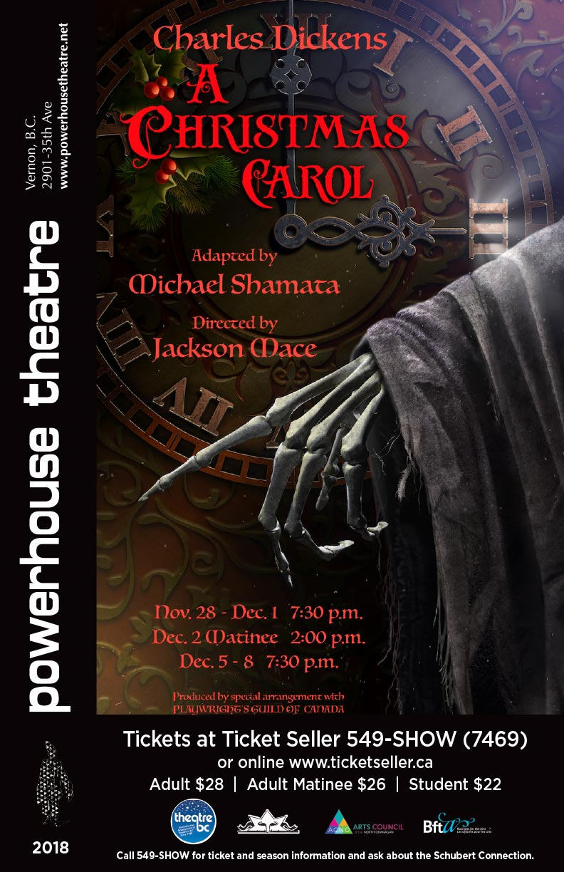 Powerhouse Theatre - A Christmas Carol - Poster